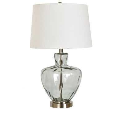 "Skyla Glass and Metal 25"" Table Lamp - Birch Lane"