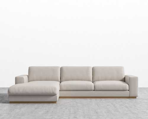 Noah Sectional - Sand Right-hand-facing - Rove Concepts