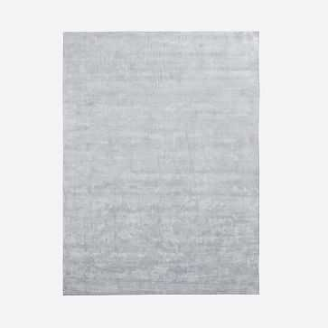 Lucent Rug, Frost Gray, 9'x12' - West Elm
