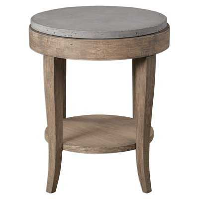 Mari Round End Table - Wayfair