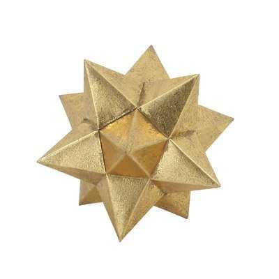 Brilliant Metallic Star Sculpture - Wayfair