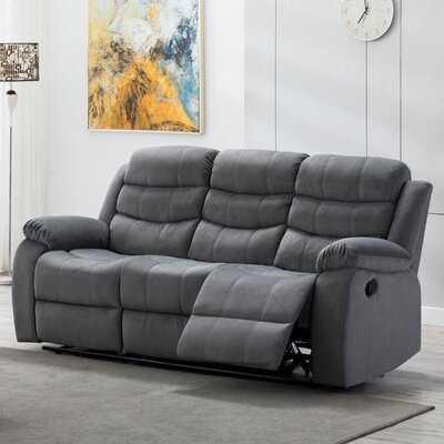 """Udel Reclining 81"""" Sofa - Manual - Wayfair"""