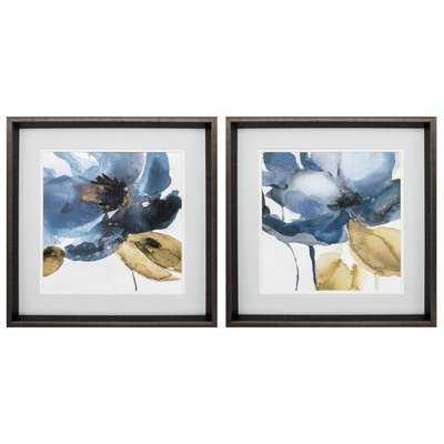 'Blue Note' 2 Piece Framed Graphic Art Print Set - Wayfair
