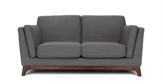 Ceni Pyrite Gray Loveseat - Article
