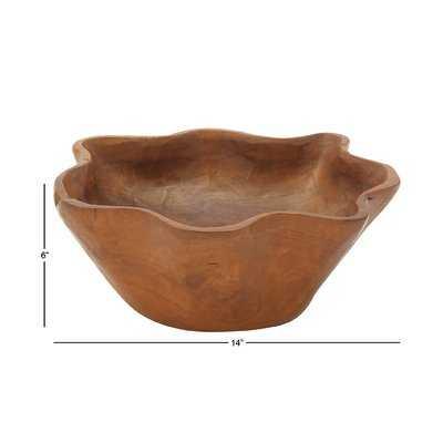 Rustic Bowl - AllModern