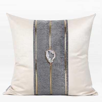 Joice Crystal Centerpiece Throw Pillow - Wayfair