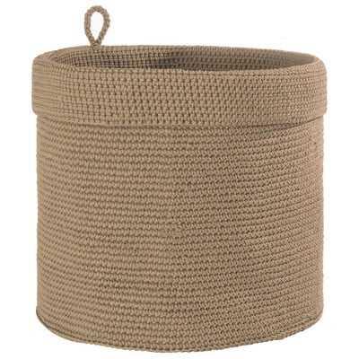 Mode Crochet Round Basket - Wayfair