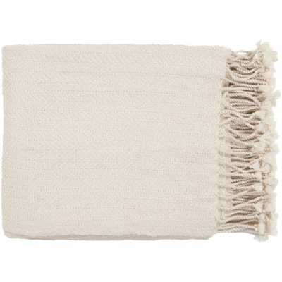 Herringbone Throw, Khaki - Havenly Essentials