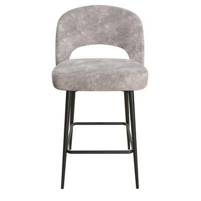 """Alexi Upholstered 24"""" Bar Stool - Wayfair"""