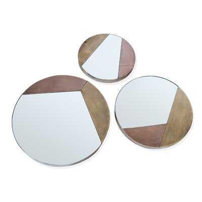 3 Piece Hazelton Mirror Set - Wayfair