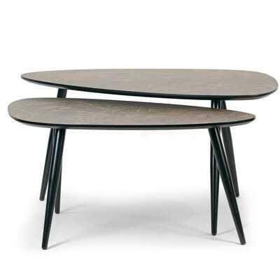Leticia 2 Piece Nesting Tables - Wayfair