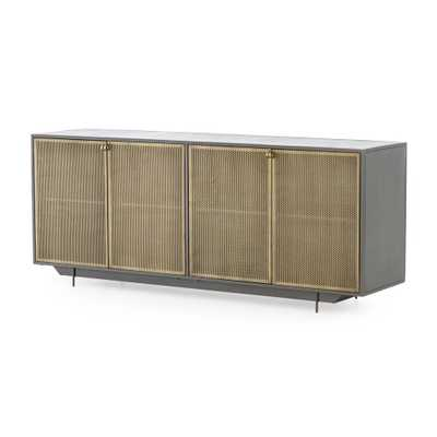 Frederick Metal Sideboard - Crate and Barrel