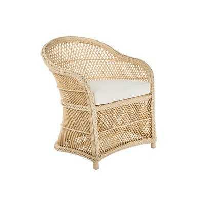 Grand Ridge Rattan Lounge Arm Chair with Armrest - Wayfair