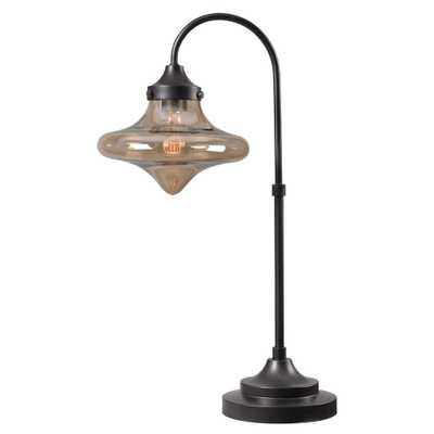 Kenroy Home Rain Drop 27 in. Bronze Table Lamp - Home Depot