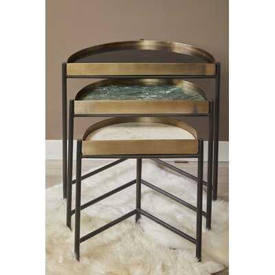 Hathcock 3 Piece Nesting Tables - Wayfair