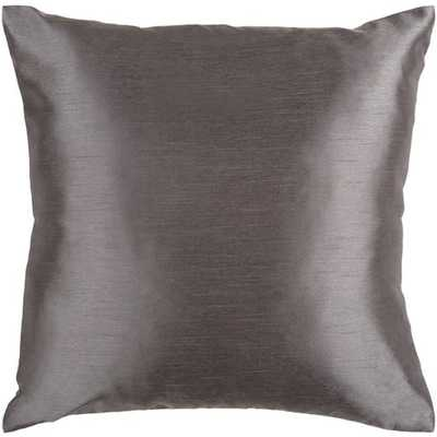 "Solid Luxe_22""H x 22""W Pillow Shell with Down Insert - Neva Home"