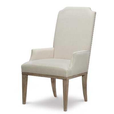 Monteverdi Upholstered Arm Chair (Set of 2) - Wayfair
