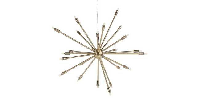 Astra Brass Large Pendant Lamp - Article