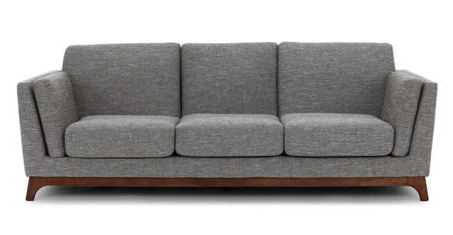 Ceni Volcanic Gray Sofa - Article