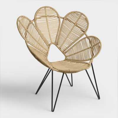 Jute Flower Chair by World Market - World Market/Cost Plus