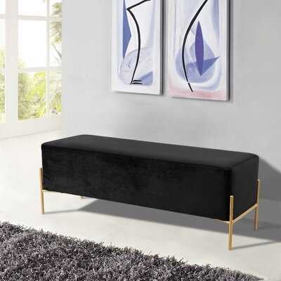 Fresnel Upholstered Bench - Wayfair