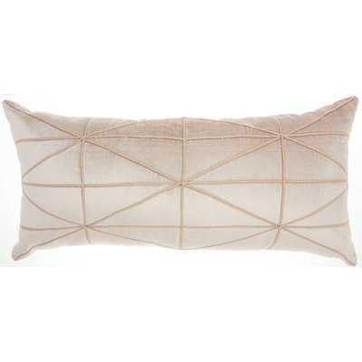 Velvet Lumbar Pillow - Wayfair