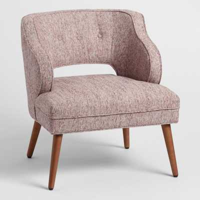 Tyley Upholstered Chair - Blush by World Market Blush - World Market/Cost Plus