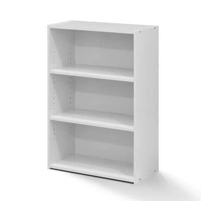 Hinshaw 3-Shelf Standard Bookcase - Wayfair
