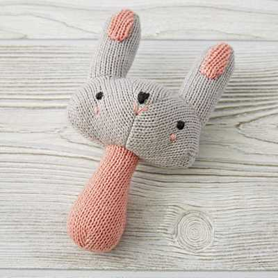 Little Bunny Rattle - Crate and Barrel