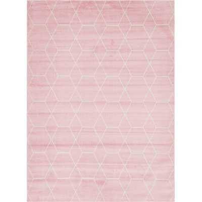 Elborough Pink Area Rug - Wayfair