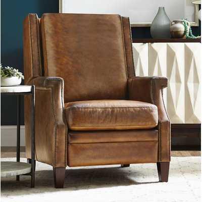 Collin Leather Recliner - Wayfair