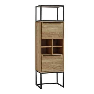 Rothman Tall Bar Cabinet - Wayfair