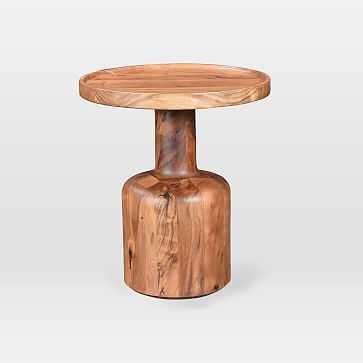 Turned Wood Side Table - West Elm