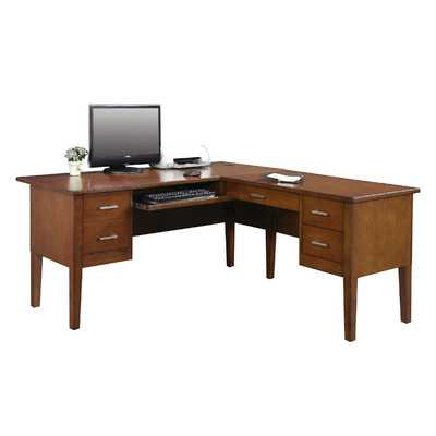 Eaton L-Shape Executive Desk - Wayfair