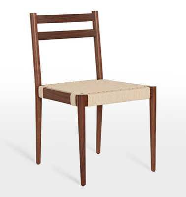 Shaw Walnut Side Chair - Rejuvenation
