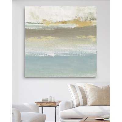 'Soft Solace Detail II' Oil Painting Print on Wrapped Canvas - Wayfair
