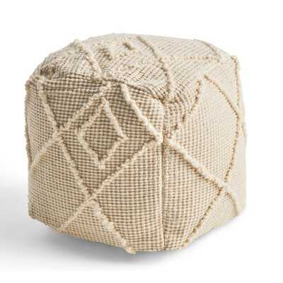 Whitehead Pouf - Wayfair