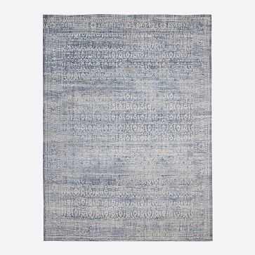Azura Rug, Indigo, 8'x10' - West Elm
