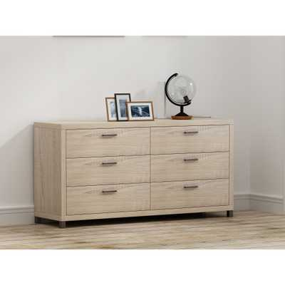 Cary 6 Drawer Chest Natural - Loft 607 - Target