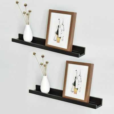 Andi Photo Ledge Picture Display Floating Shelf - Wayfair