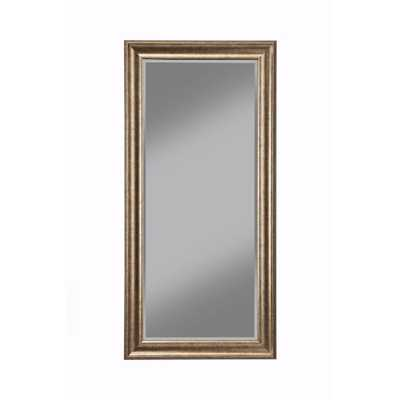 Antique Gold Full Length Floor Leaner Mirror - Home Depot