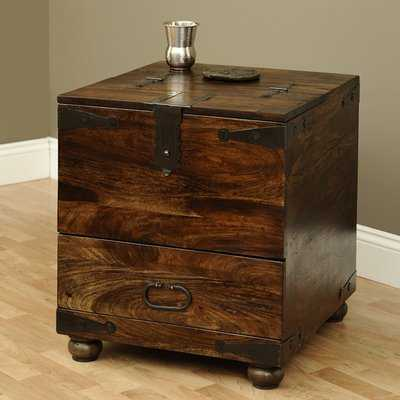 Castrejon End Table With Storage - Wayfair