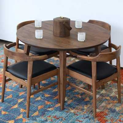 Keown Solid Wood Dining Table - Wayfair