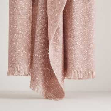 Speckled Throw, Adobe Rose - West Elm