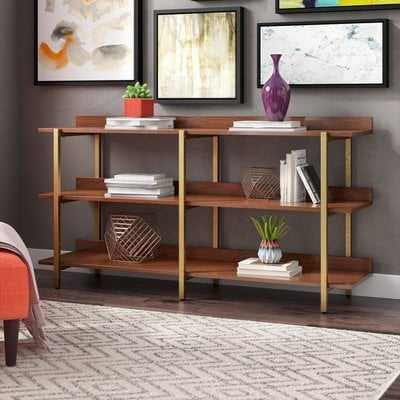 Rexdale Etagere Bookcase - Wayfair