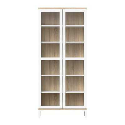 Boggess 2 Door Curio Cabinet - AllModern