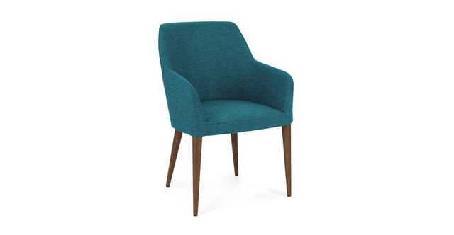 Feast Arizona Turquoise Dining Chair - Article