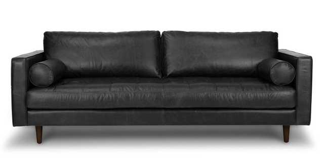 Sven Oxford Black Sofa - Article