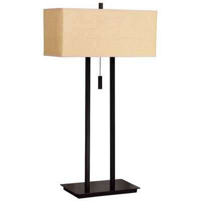Kenroy Home Emilio 29 in. Bronze Table Lamp - Home Depot