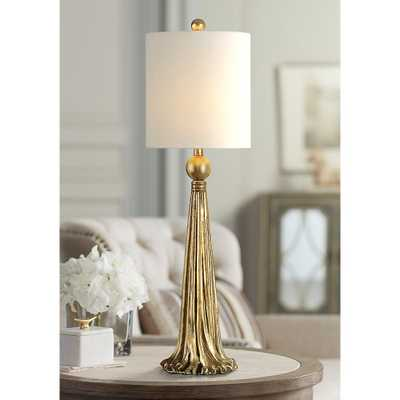 Uttermost Paravani Antique Metallic Gold Buffet Table Lamp - Style # 32N99 - Lamps Plus